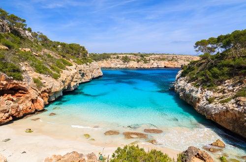 Caló des Moro en Mallorca