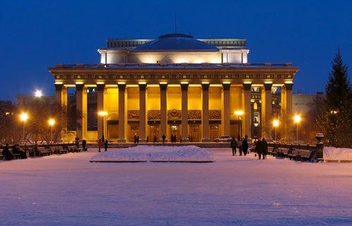 Novosibirsk Opera en Siberia