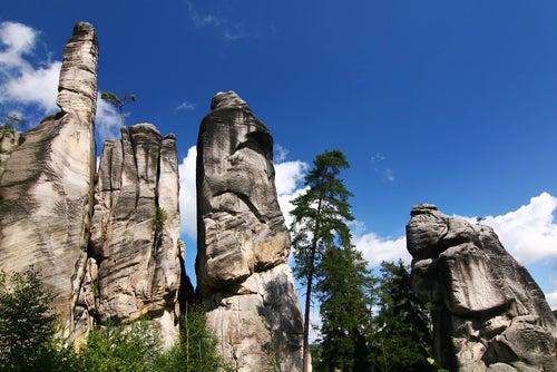 Rocas de Adrspach-Teplice