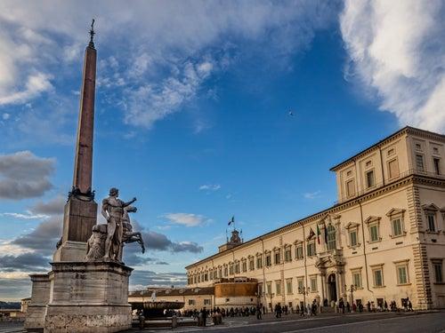 Plaza del Quirinal en Roma