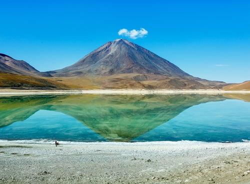 La Laguna Verde en Bolivia, un increíble lago verde