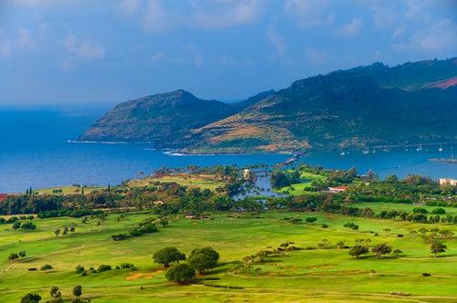 Bahía de Nawiliwili en Kauai