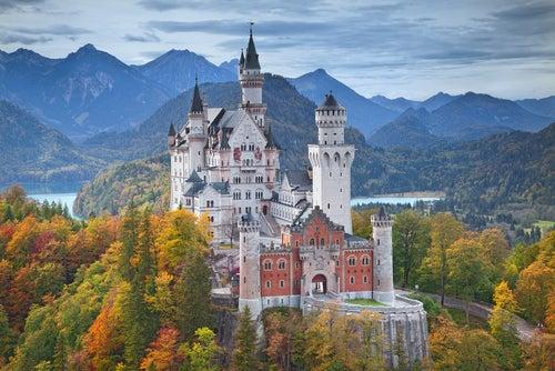 El castillo de Neuschwanstein, un escenario de fantasía