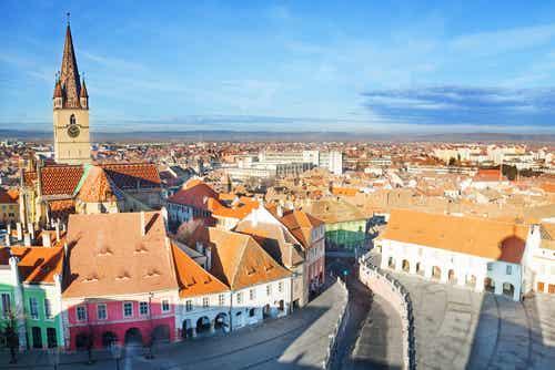 Sibiu en Rumanía, medieval y encantadora