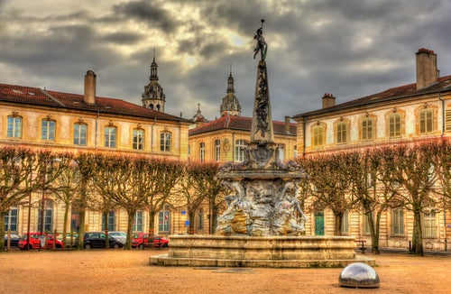 Plaza de la Alianza en Nancy