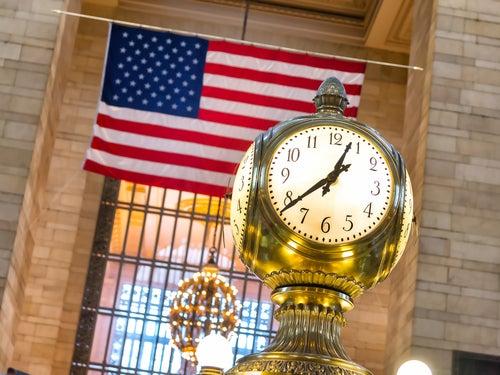 Reloj en la Estación Central