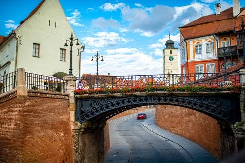 Puente de los Mentirosos en Sibiu, Transilvania