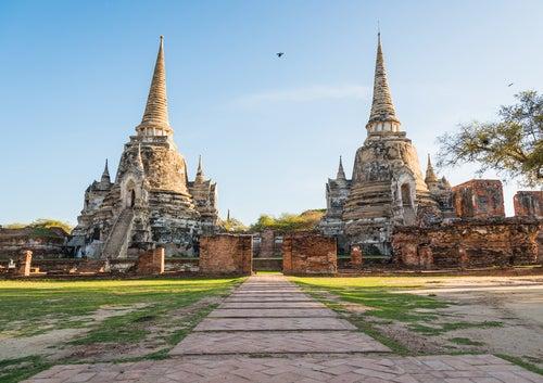 Ayutthaya en Tailandia