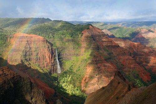 Waimea Canyon en Kauai