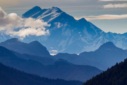 Cordillera Fairweather en Alaska