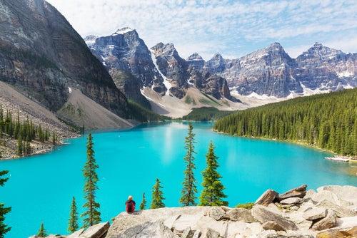 El lago Moraine en Canadá, un lugar de ensueño