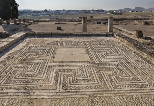 Mosaicos en Itálica