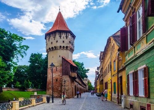 Torre de los Carpinteros en Sibiu