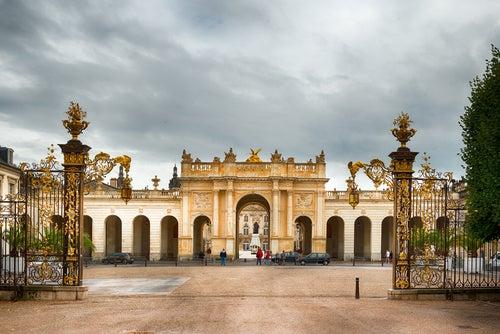Plaza de la Carriere en Nancy