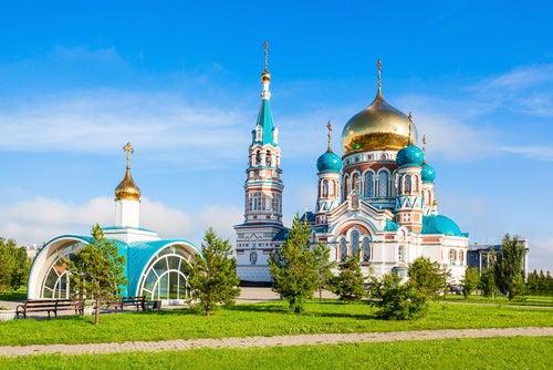 Catedral de la Asunción en Siberia