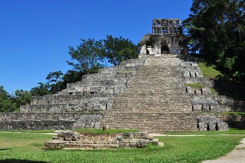 Templo de la Cruz en Palenque
