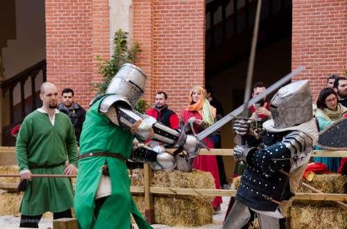 Combate en el castillo de Belmonte
