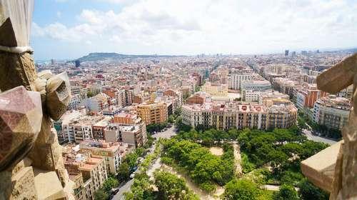 Barcelona desde la Sagrada Familia