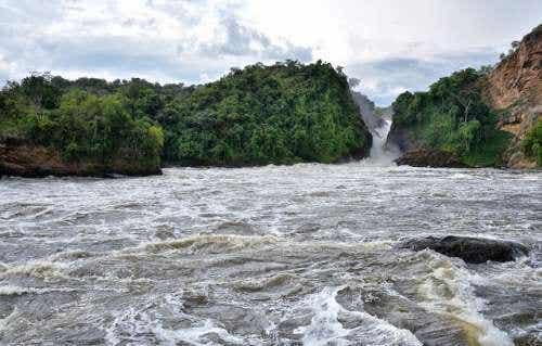 Las cataratas Murchison, la fuerza del Nilo