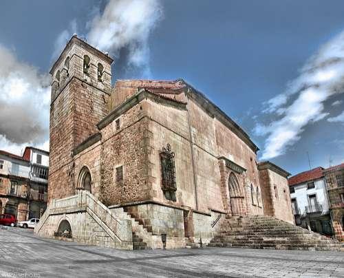Iglesia de el Salvador en Béjar