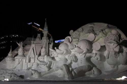 Festival de la nieve en Sapporo