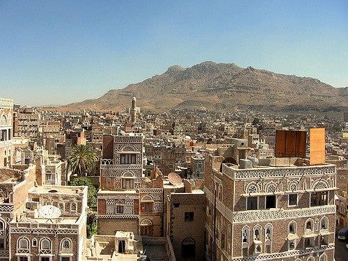 Sanaá en Yemen