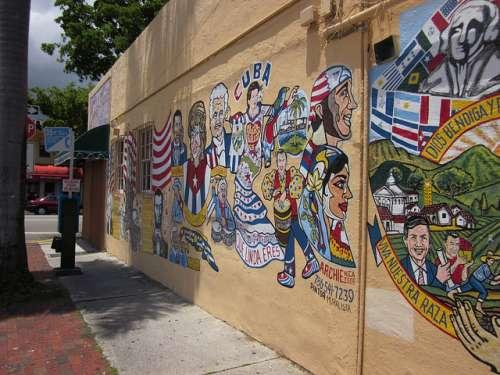Pequeña Habana en Miami