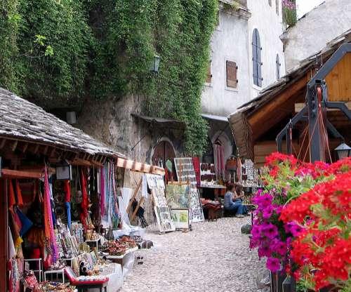 Bazar en Mostar