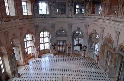 Salón Oval Vaux le Vicomte