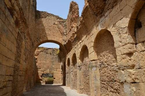 Bulla Regia en Túnez