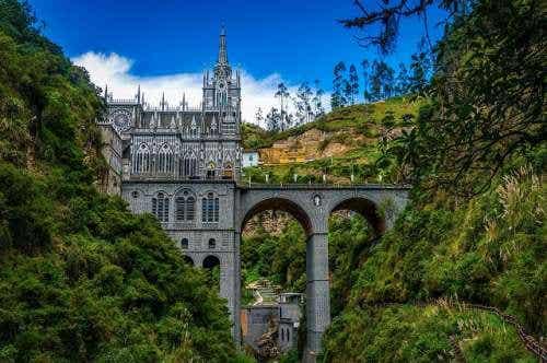 El santuario de Lajas en Colombia, un rincón celestial