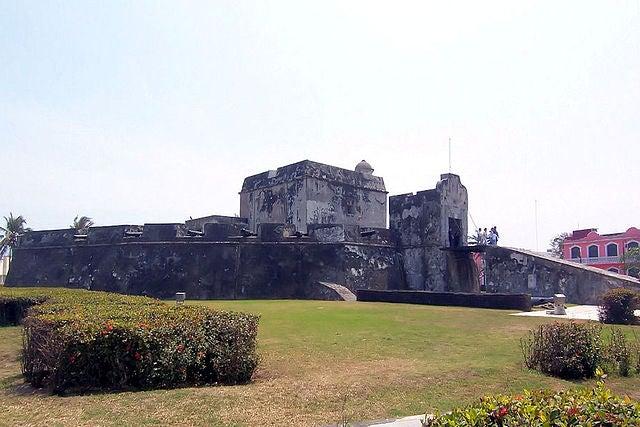 Baluarte de Santiago en Veracruz