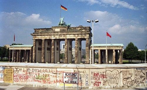 Puerta de Brandemburgo, 1988