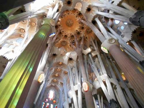 Bóveda de la Sagrada Familia