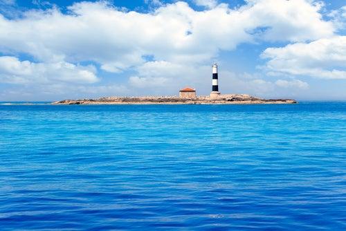 Faro den Pou en Formentera