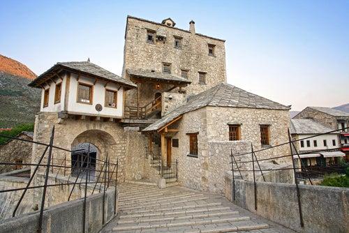Torre del puente de Mostar