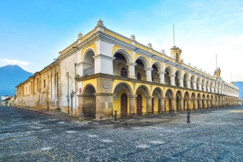 Palacio en Antigua