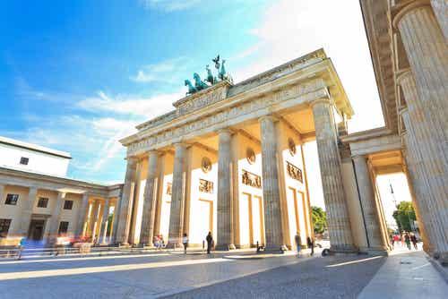 La Puerta de Brandemburgo, el símbolo alemán de Berlín