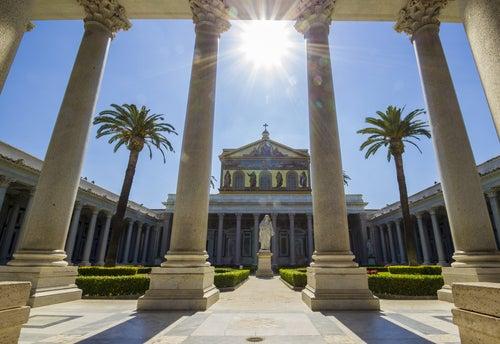 Basílica de San Pablo Extramuros en Roma