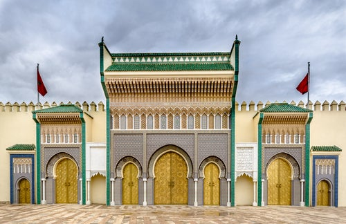 Palacio Real en Fez