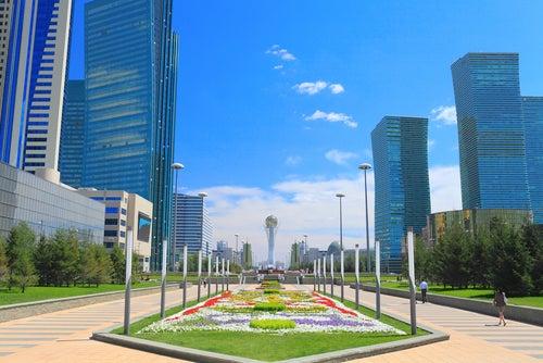 Astana en Kazajistán