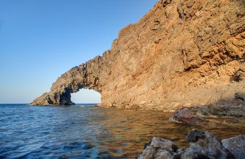 Arco del Elefante en Pantellería