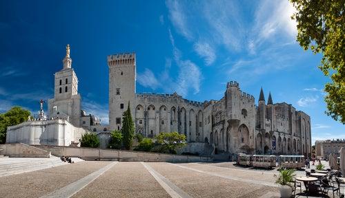 Palacio y catedral de Aviñón