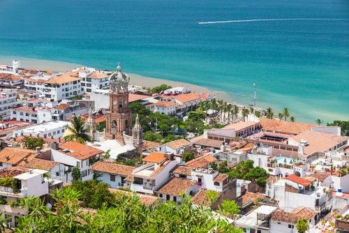Puerto Vallarta y el océano Pacífico