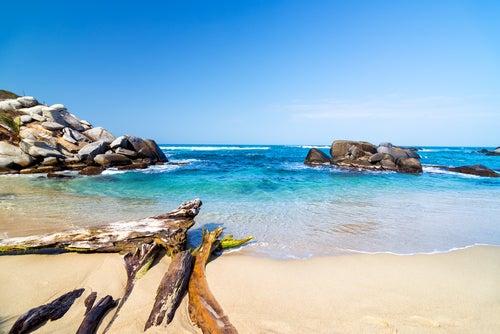 Playa en Tayrona