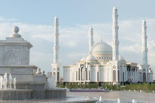 Mezquita Azret Sultan en Astana