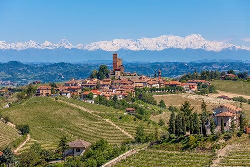 Piamonte en los Alpes