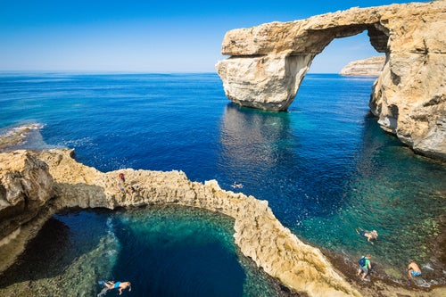 Blue Window en Gozo