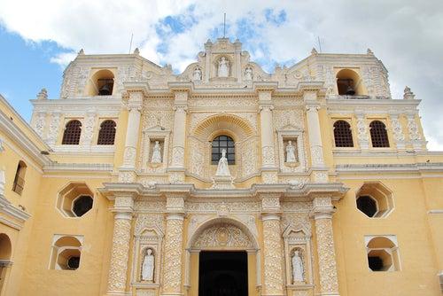 Iglesia de la Merced en Antigua