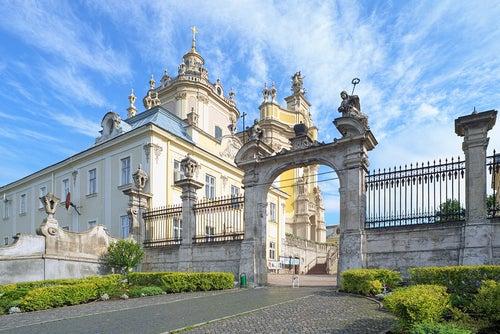 Catedral de San Jorge en Lviv